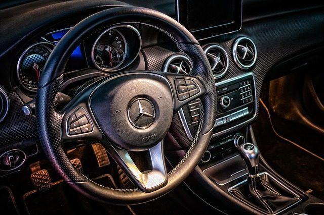 Kierownica Mercedes